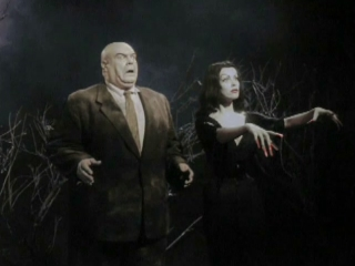 Two of the three terrifying zombies in the film (the third being Bela Lugosi!)