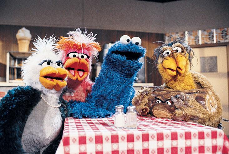Sesame Street's Twin Beaks