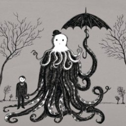 Artwork Inspired by H.P. Lovecraft