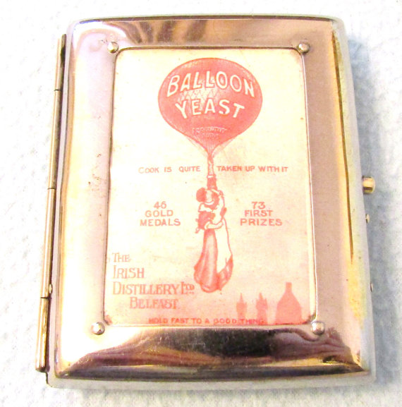 Vintage Advertising Cigarette Case