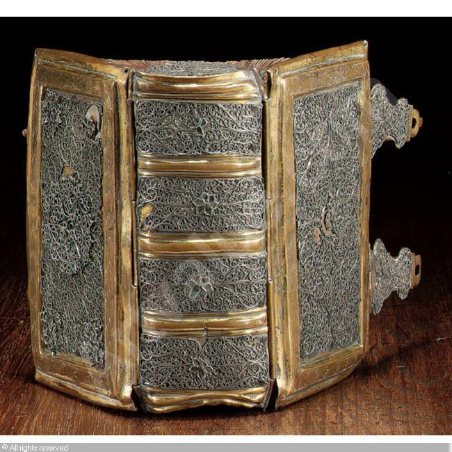 17TH CENTURY,FILIGREE, BINDING,Sotheby's,New York
