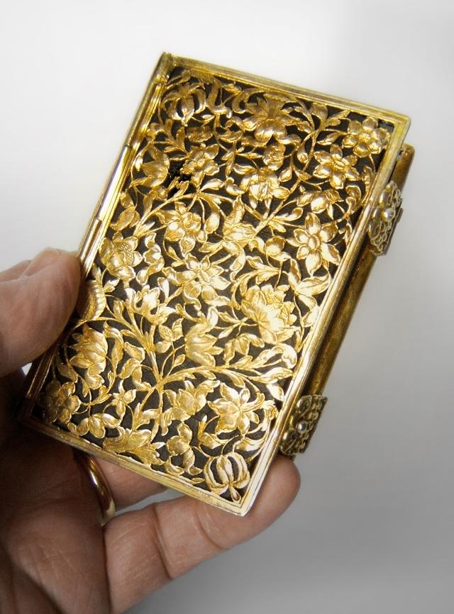 Silver-gilt book-cover