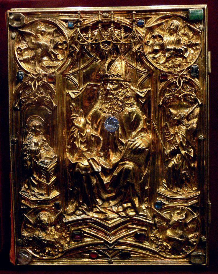 Coronation Evangeliar cover by Hans von Reutlingen, c. 1500