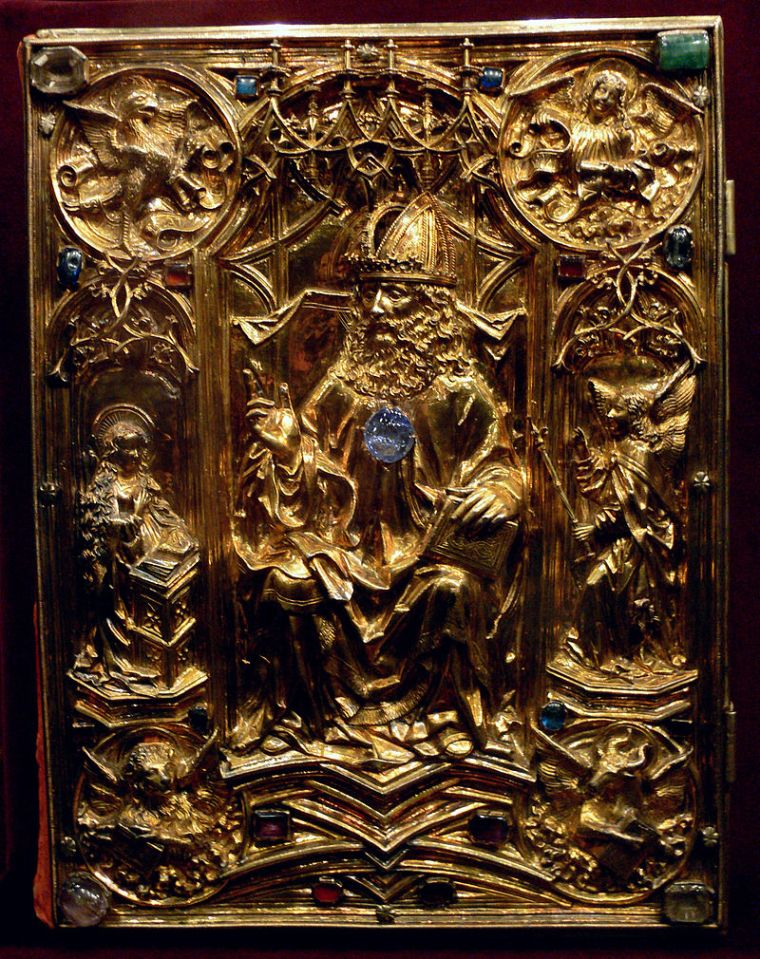 Coronation Evangeliar cover by Hans von Reutlingen, c. 1500