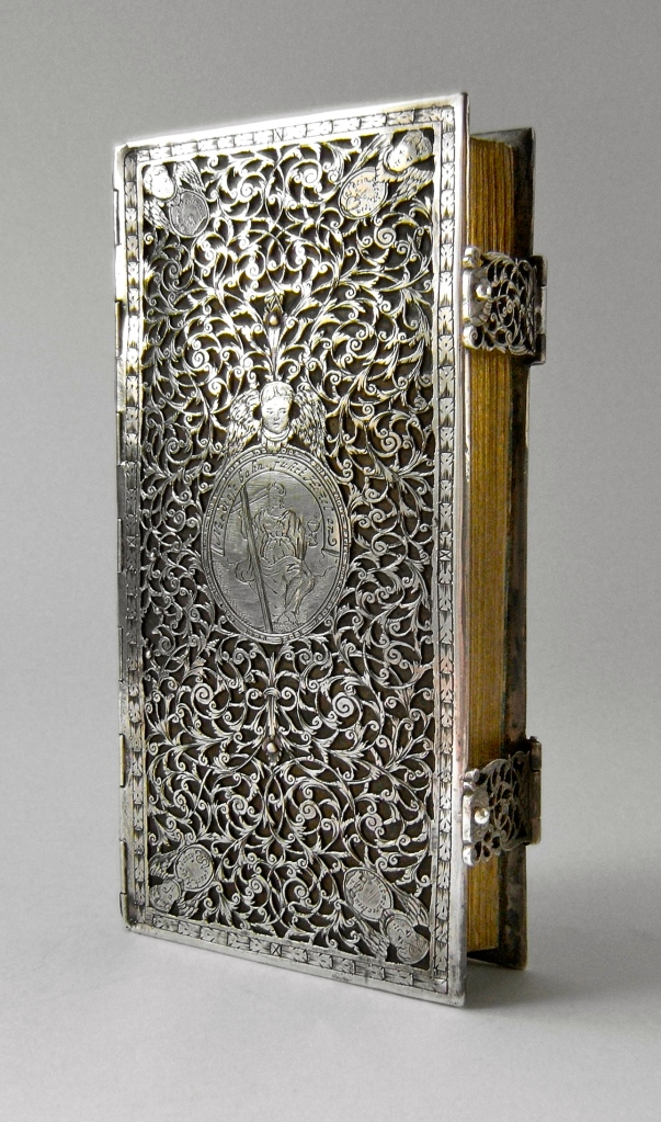 Silver bookbinding - Augsburg (?) - 17th century