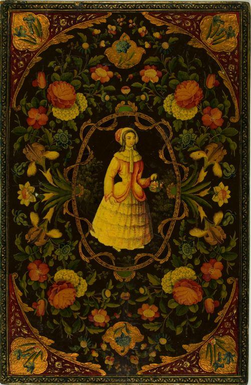 housewitch: Iran Book Binding, 18th/19th century Via: ghostsintherosegarden Source: ghostcafe