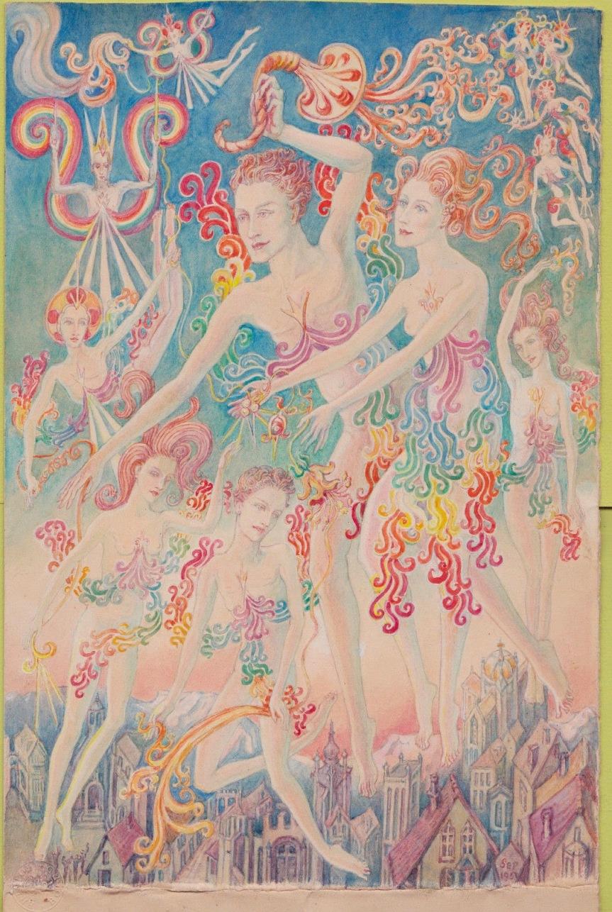 Ethel Le Rossignol(1874-1970)
