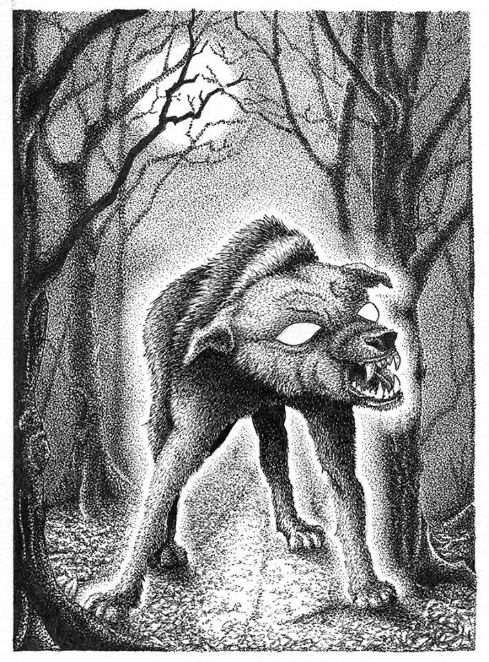 Illustration from the book by artist Paul Atlas-Saunders