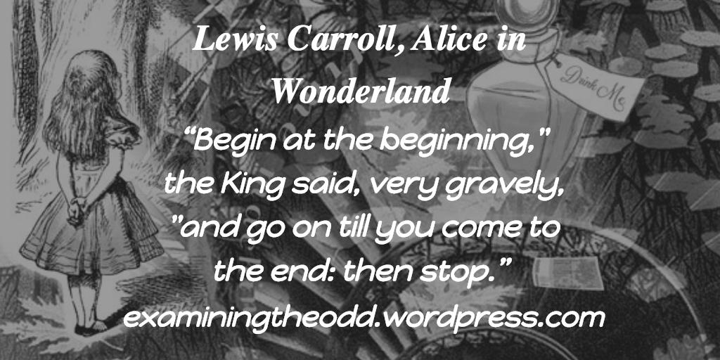 Alice in Wonderland –Quotes