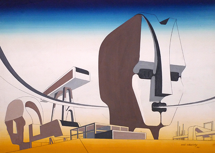 Bauhaus artist Xanti Schawinsky on Display at the Drawing Center