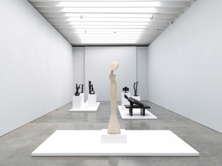 """Max Ernst Paramyths: Sculpture, 1934–1967"" at Paul Kasmin Gallery, New York (installation view). Photo: courtesy Paul Kasmin Gallery."