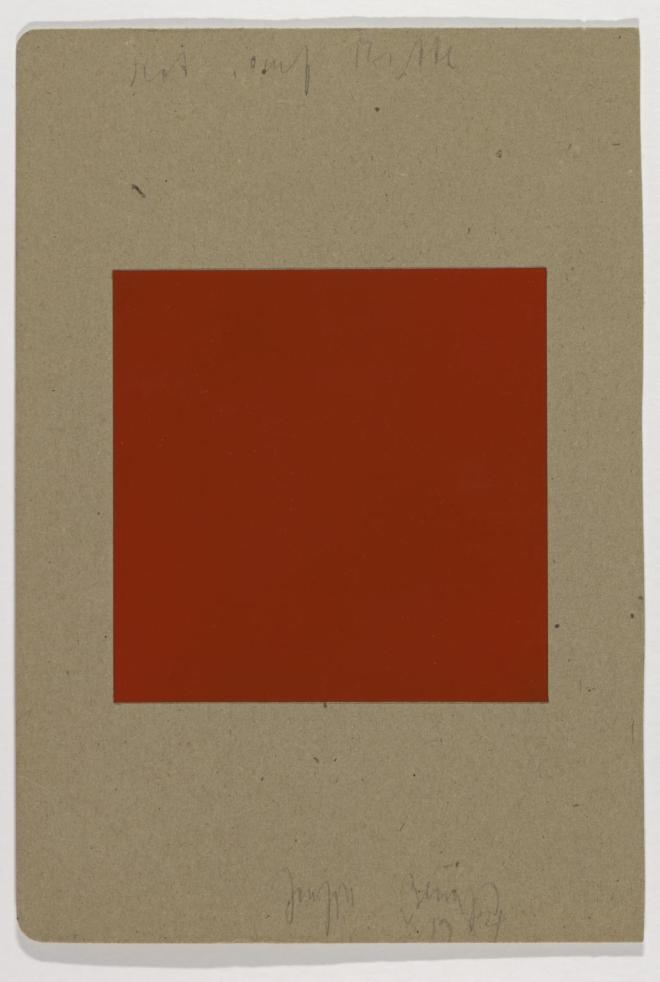 Red on Centre 1984 by Joseph Beuys 1921-1986