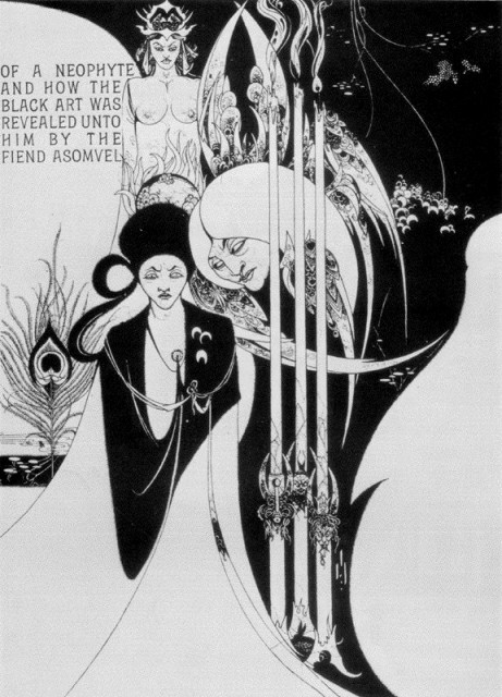 Aubrey Beardsley - Of a Neophyte and how the Black Art was revealed unto him_ from The Pall Mall___