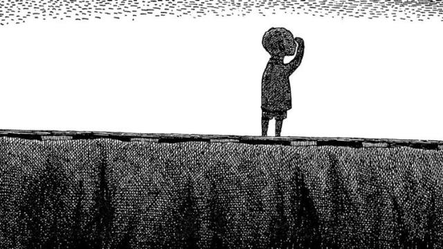 Illustration (detail) from The Gashlycrumb Tinies, 1963