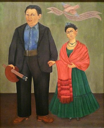 Frieda and Diego Rivera by Frieda Kahlo