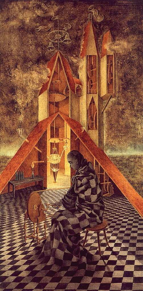 Useless Science or the Alchemist by Remedios Varo