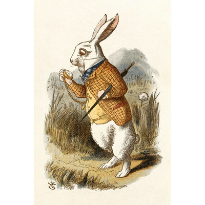 Magnolia-Box-The-White-Rabbit-by-John-Tenniel-Art-Print