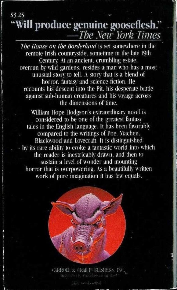 house on the borderland william hope hodgson 1983 reprint carroll graft - Copy