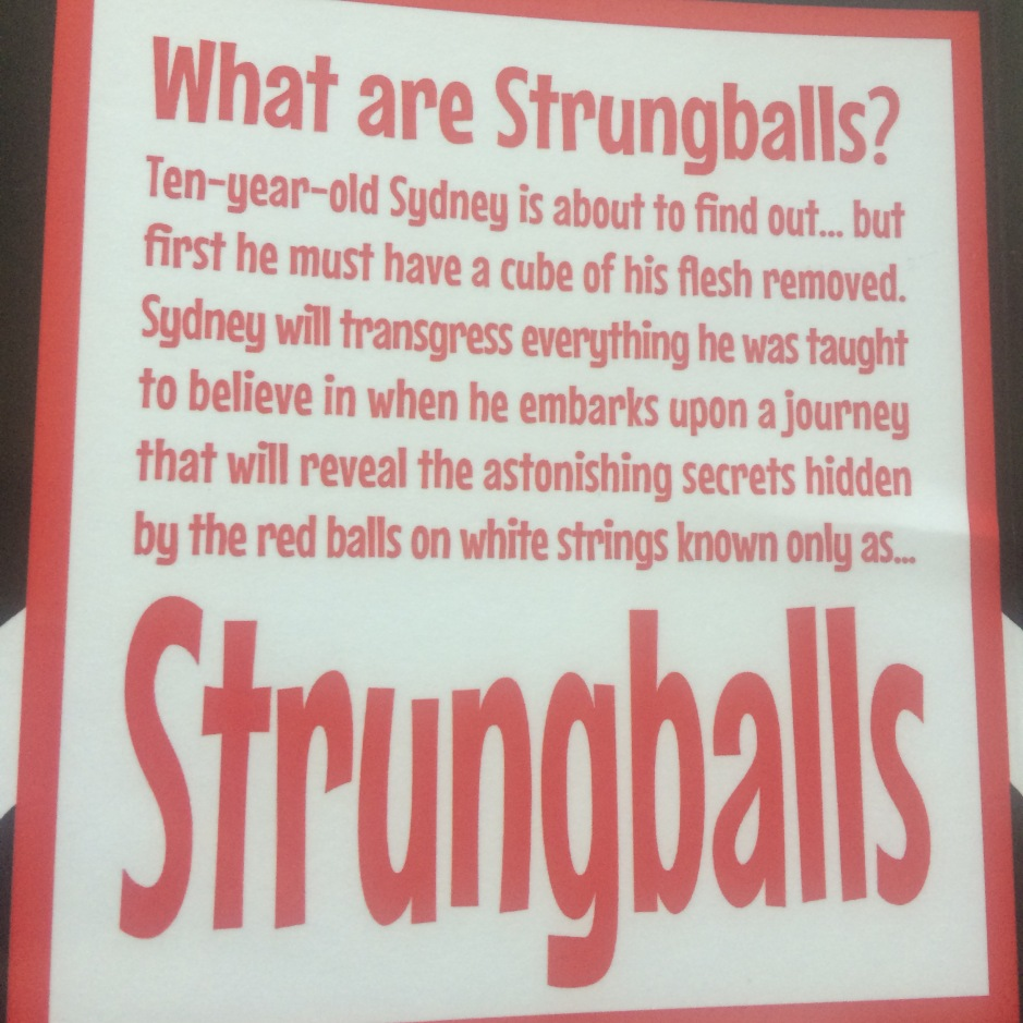 Strungballs by Mike Russell
