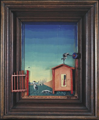 Two Children are Threatened by a Nightingale - Max Ernst
