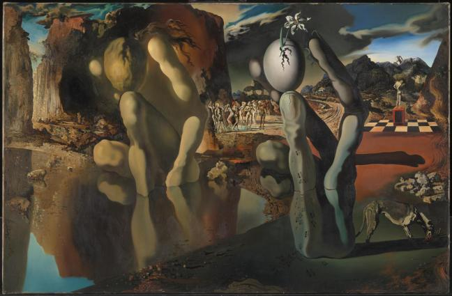Metamorphosis of Narcissus 1937 by Salvador Dal? 1904-1989