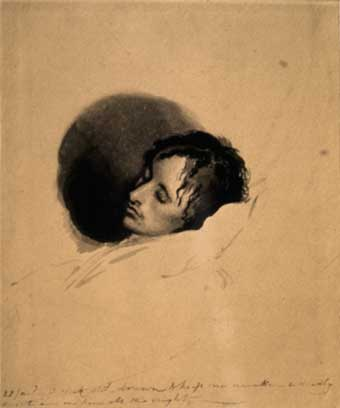 keats-deathbed