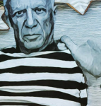 The Monday Poem: 17 august XXXV by Pablo Picasso