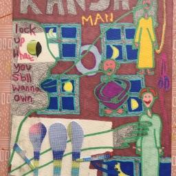 Kansas (New Drawing / Collage)